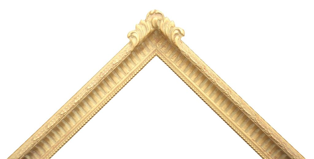 Fluted & Ribbed Picture Frame